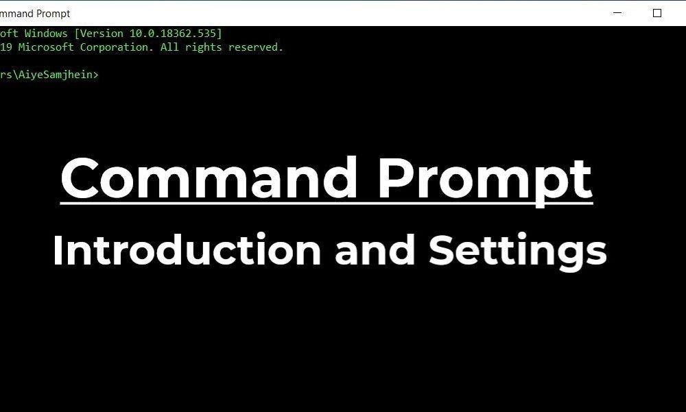 Windows 10 Tutorial #4 – Command Prompt (Part 1)