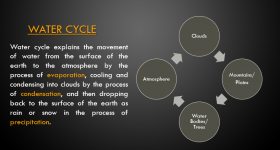 3 Water Cycle Steps: Diagram and Definition