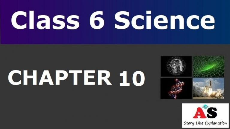 Class 6 Science Chapter 10 Notes