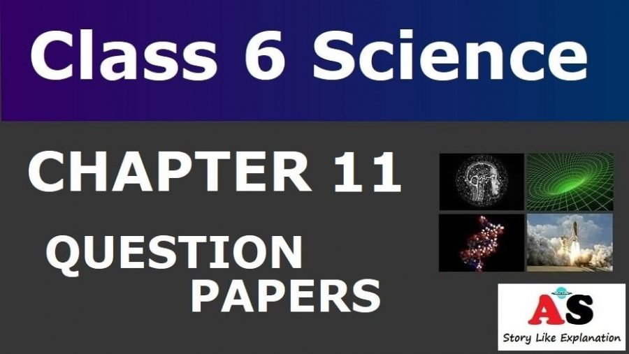 Class 6 Science Chapter 11 Question Paper