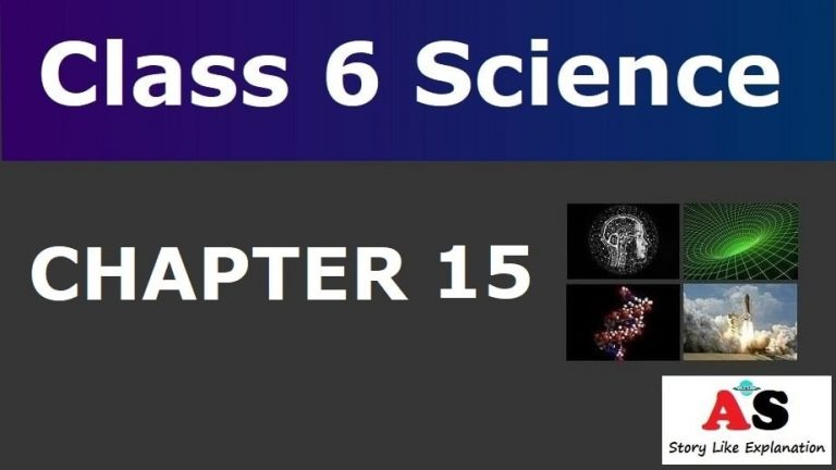 Class 6 Science Chapter 15 Notes