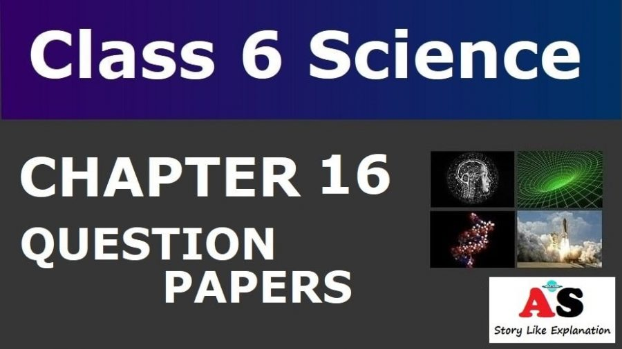 Class 6 Science Chapter 16 Question Papers