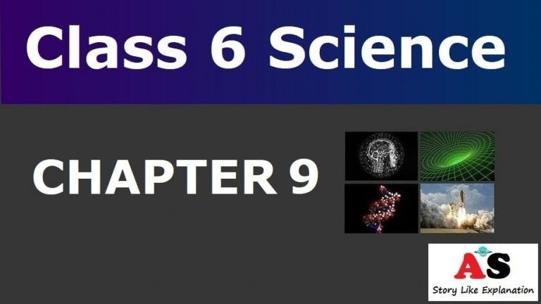 Class 6 Science Chapter 9 Notes