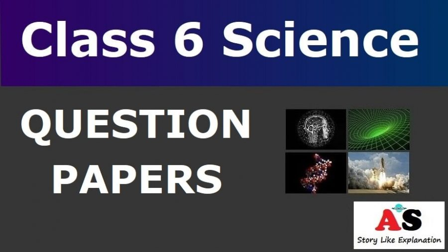 Class 6 Science Question Papers