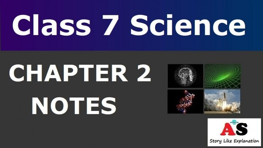 Class 7 Science Chapter 2 Notes