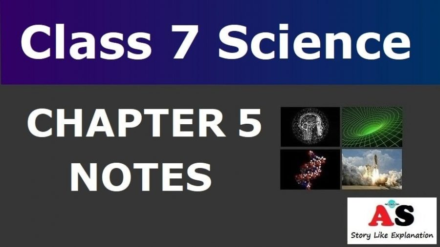 Class 7 Science Chapter 5 Notes