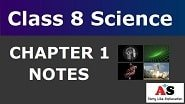 Class 8 Science Chapter 1 Notes_