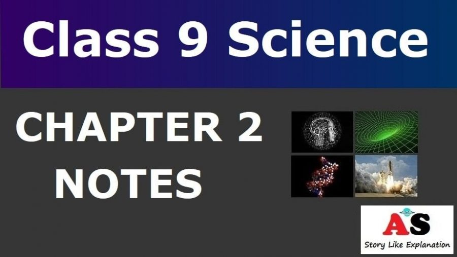 Class 9 Science Chapter 2 Notes