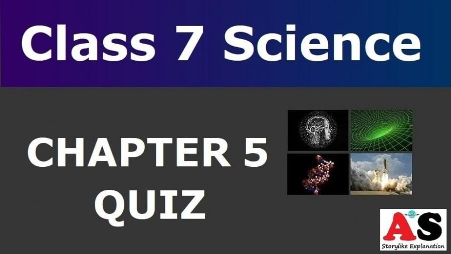 MCQ Questions for Class 7 Science Chapter 5 with Answers