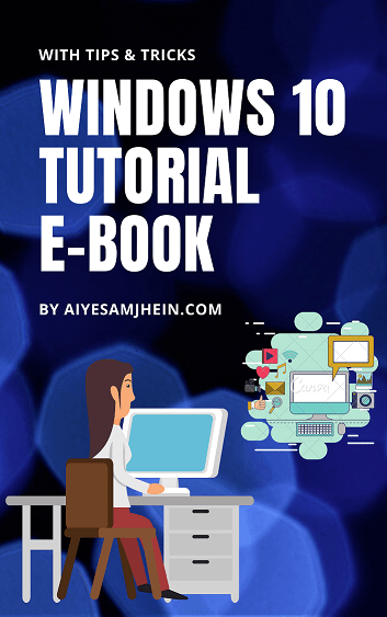 Free Download - Windows 10 tutorial e-book