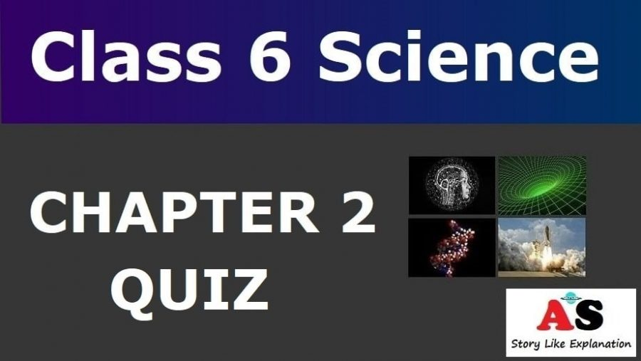 Class 6 Science Chapter 2 Quiz