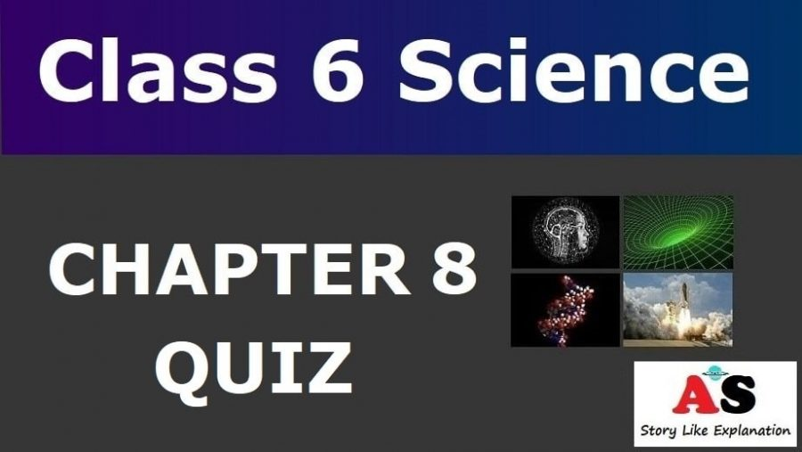Class 6 Science Chapter 8 Quiz