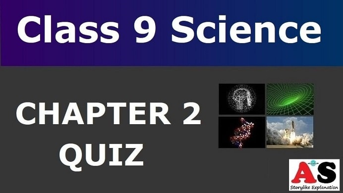 MCQ Questions for Class 9 Science Chapter 2 with Answers